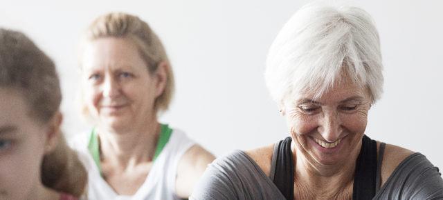 Genoptræning af nakke og ryg med Pilates