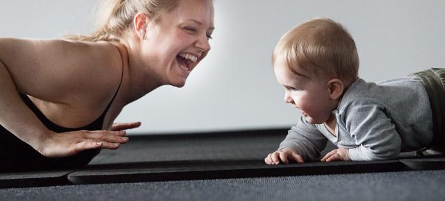 Vinterhold til genoptræning efter fødslen i Lyngby